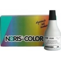 Краска штемпельная спец., NORIS 320 для текстиля, спирт., основа, 50 мл, черная