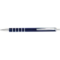 Ручка кулькова металева Optima Steel, синя