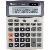 Калькулятор настольный бухгалтерский Optima O75506