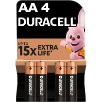 Батарейка DURACELL AA MN1500 4шт. в упаковке