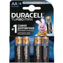 Батарейка DURACELL Turbo AA MN1500 4шт. в упаковке