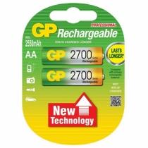 Аккумулятор GP AA 2700 mAh, 2шт. в упаковке