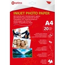 Фотопапір Optima А4, глянцевий, 180 г/м2, 20 арк.