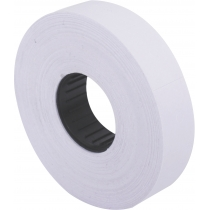 Етикетки-цінники Economix 23х16 мм білі (700 шт. / рул.), E21302-14