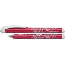 Ручка перьевая (без картриджа) SCHNEIDER FANTASY, розово/белая