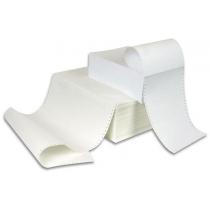 Бумага перфорированная однослойная СПФ плотность 55 гр/м2 ширина 420 мм  Lux 1700 листов
