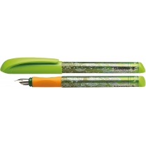 Ручка перьевая (без картриджа) SCHNEIDER FIESTA, зеленая