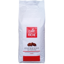 Кофе в зернах Cafe RICHE Expresso Intense (Робуста), 1кг., Пакет