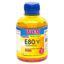 Чернила EPSON L800 E80/Y, yellow, 200 г.