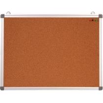 Доска корковая , 45х60, рамка алюм.