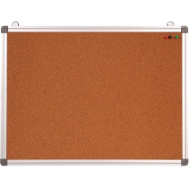 Доска корковая , 60 x 45 см, рамка алюм.