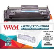 Картридж тонерный WWM для HP LJ 1010/1020/1022 аналог Q2612A