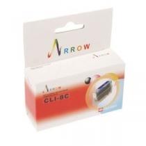 Картридж струйный Arrow для Canon Pixma iP4200/iP4500/iP6600 аналог CLI-8C Cyan (CLI8C)