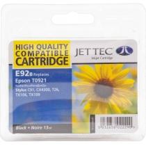 Картридж струйный JetTec для Epson Stylus C91/T26/TX119 аналог C13T10814A10/C13T09214A10 Black (110E
