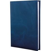 Ежедневник датированный 2019, MARBLE, темно-синий, А5