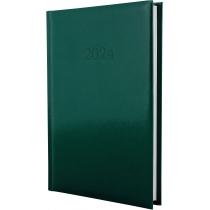 Ежедневник датированный 2019, FLASH, зеленый, А5