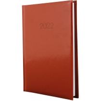 Ежедневник датированный 2019, FLASH, коричневый, А5