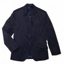 Пиджак для мальчика синий 206 38 размер рост 164 см