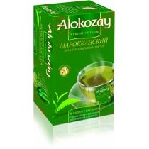 Чай Alokozay Tea 25 шт зеленый марокканский с мятой