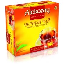 Чай Alokozay Tea 100 шт  черный