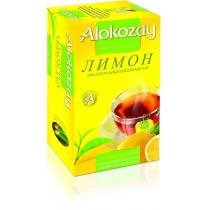 Чай Alokozay Tea 25 шт черный с лимоном