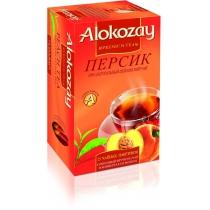 Чай Alokozay Tea 25 шт черный с персиком