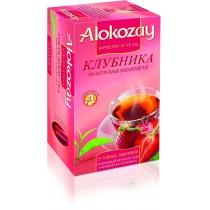 Чай Alokozay Tea 25 шт черный с клубникой
