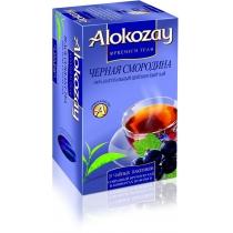 Чай Alokozay Tea 25 шт черный с черной смородиной