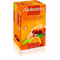 Чай Alokozay Tea 25 шт черный с апельсином