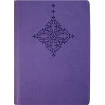 """Деловая записная книжка А6, теснение """"Орнамент-ромб, мягкая, кремовый блок, бирюзовая"""