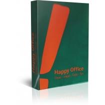 Папір офісний  HAPPY OFFICE  А4 80 г/м2 , 500 арк , С клас , Польща