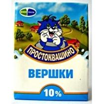 Сливки Простоквашино 10% т/б 200г