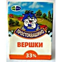 Сливки Простоквашино 33% т/б 200г