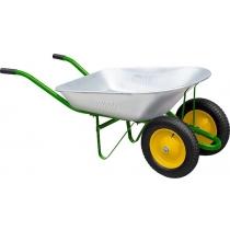 Тачка садова, два колеса, вантажопідйомність 170 кг, об'єм 78 л PALISAD