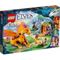"""Конструктор Лего """"Пещера с рядом огненного дракона"""""""