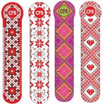 """Закладинки пластикові для книг """"Vyshyvanka"""" (4 шт.)"""
