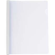 Папка А4 Economix с планкой-зажимом 10 мм (2-65 листов), белая
