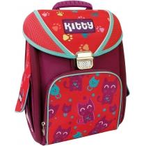 """Рюкзак школьный каркасно-трансформер 14 """","""" Kitty """"711 (+ подарок)"""