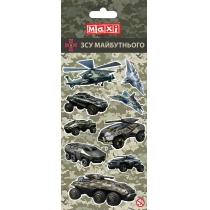 Наклейки полимерные объемные глянцевые «Military», 10*18 см