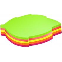 "Стикеры ""Листок"" Economix , 45х50, 4 цвета, 80 листов"