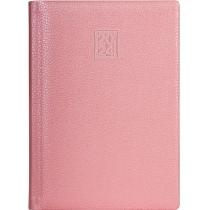 Ежедневник датированный 2020, ARMONIA, розовый металлик, кремовый блок, А5