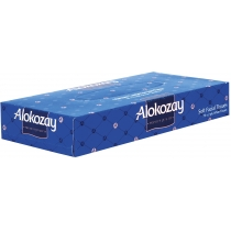 Салфетки бумажные ALOKOZAY, 2 слоя, 70 шт, коробка прямоугольная, цвет ассорти
