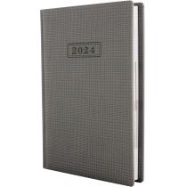 Щоденник датований 2018, GLEN , світло-сірий, А5