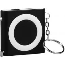Рулетка-брелок BOBI, черная