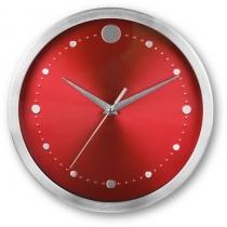 Годинник настінний TWINGO, червоний