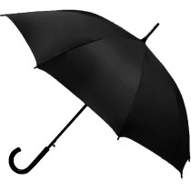 Зонт трость автомат. CLASSIC, чорній