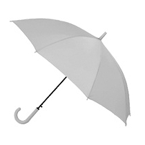 Зонт трость автомат. FEST, серый