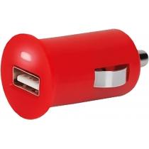 Устройство для зарядки в авто SPOT, красный