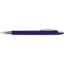 Ручка шариковая OPTIMA PROMO GENEVA. Корпус синий, пишет синим.