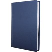Ежедневник полудатированный, NEBRASKA, синий металлик, А5, без поролона